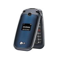 New LG B450 T-Mobile MetroPCS Black/Blue Cellular Flip Camera Phone