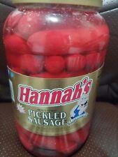Hannah's Pickled Sausage, 4 Pound (1 Jar
