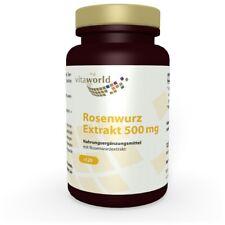 Rhodiola rosea extract 500mg 120 Capsule Vita World German pharmacy production
