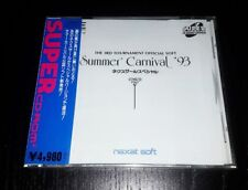 PC Engine Summer Carnival '93 NEXZR special SHMUP Japan SCD Brand New SEALED