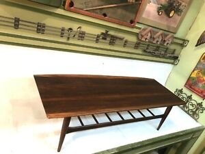 Rectangular Mid-Century Modern End Table Coffee Table Surf Board 615-64-600