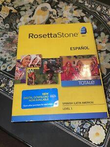 Rosetta Stone Espanol TOTALE Spanish (Latin America) Level 1 - Version 4