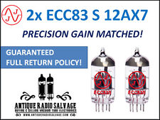 New in Box: JJ Electronics (Tesla) Gain Matched Pair (2x) ECC83-S 12AX7 Tubes