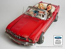 Guillermo Forchino Comic '65 FORD MUSTANG 100% Car collection Figurine Sculpture