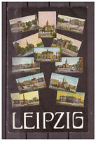 Ansichtskarte - Leipzig - Stadtansichten - AK Zugstempel