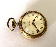 Vintage Rona Francia 17 Joyas Mujer Reloj de Bolsillo Arnex Hora Piezas Reparar