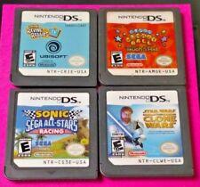 Sonic Racing Rayman Rabbids Monkey Ball Star Wars Nintendo DS Lite 2ds 3ds Game