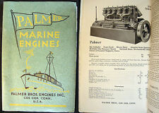 1937 COS COB CONNECTICUT PALMER MARINE ENGINES EQUIPMENT CATALOG 1927 PRICE LIST