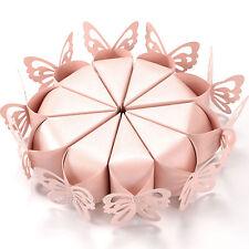 100pz Cono Perlata Matrimonio Segnaposto Bomboniere Portariso Porta confetti