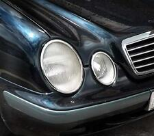MERCEDES CLK W208 A208, C208 Chrome HeadLight Trim Surrounds