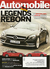 Automobile Mag feb 2012  Mazda CX-5 - Mercedes C63 AMG  - Lexus GS