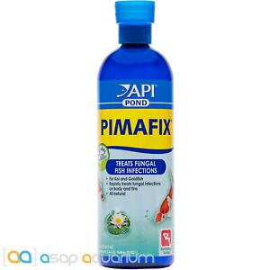 API Pond PimaFix 16oz All Natural Koi Fish Fungal Infection Treatment