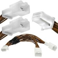 Y-Adapter Kabel Verteiler 6+6 Pin Auto Radio CD MP3 Wechsler Car-Kit für Toyota