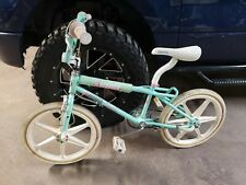 "Free Ship Bmx Green 87 Mongoose Decade Frame Fork Bars 20"" Freestyle Bike gt cw"