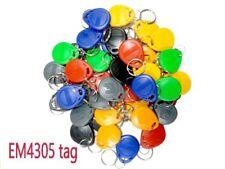 50pcs T5577 EM4305 Rewritable Writable RFID Tag for Copy EM4100 125khz Keyfobs