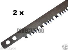"Toolzone Raker Teeth Bow Saw Blade 21"" Wet Green Wood Tooth 530mm Buy 1get1 Free"