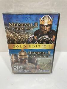 Medieval II Gold Edition (Total War, Total War Kingdoms)   PC DVD 2 Discs   Sega