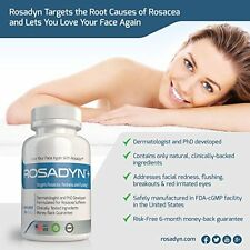 Rosacea Treatment Care Reduce Redness Blemishes Flushing All Natural Effective