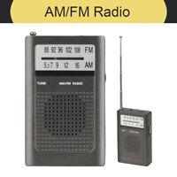 Brand NEW Battery Operated Portable AM/FM Transistor Radio AR1458
