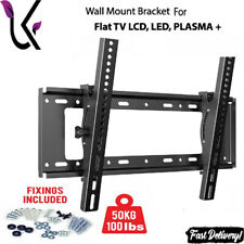 More details for tv wall bracket mount for samsung lg toshiba 32 40 42 43 50 55 58 60 65 70 inch