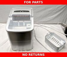 Defective Insignia Portable 26lb Ice Maker, Ns-Imp26Sl0, No Ice, Sold As Is