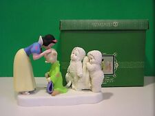 Dept 56 SNOWBABIES Disney SNOW WHITE  One By One She Kissed Them All  NEW in BOX