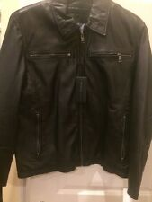 andrew marc new york leather jacket L