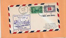 FIRST FLIGHT  AM 82 HELENA ARK - DALLAS TEX JUN 28,1953