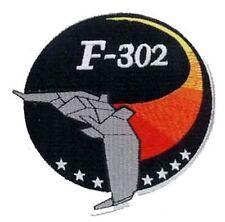 Stargate SG1 Ecusson des pilotes du F 302 avec scratch Stargate F302 pilot patch