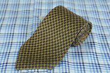 Brooks Brothers Uomo Cravatta Viola Verde Stampa Cravatta 147x9.5cm
