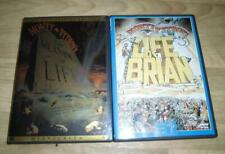 2 Dvd Movie Lot Comedy Used Monty Python Meaning of Life / Life of Brian