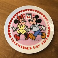 Schmid Walt Disney Valentine's Day 1979  Plate Wall Mount First Limited Edition