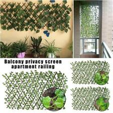 Expanding Natural Wooden Trellis Climbing Plants Fence Panel Screening Lattice