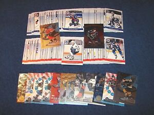 1999-00 TOPPS PREMIER PLUS HOCKEY SET COMPLETE 1-140 + 14 DIFF INSERTS (18-34)