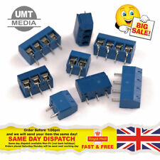 2/3/4 Pin 5.08mm (2.54mm X 2) Pitch PCB Mount Screw Terminal Block Connector UK