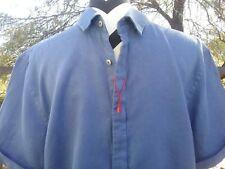 Zara Man Men's Button Down Short Sleeve Slim Fit Shirt Size Medium