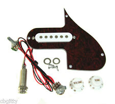 Florentine Screamer(tm) Pre-wired Pickup w/ Volume, Tone & Tortoise Pickguard