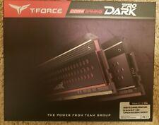 Team T-Force DARK Pro 16GB (2 x 8GB) 288-Pin SDRAM DDR4 320014-14-14-31 CL 14