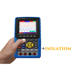 HDS1022M-I Isolated Channels Portable 20Mhz Oscilloscope and Multimeter