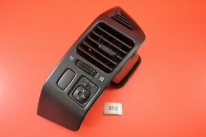 B21 01-06 Mitsubishi MONTERO DRIVER Dash Bezel Trim AC VENTS MR456381 BLACK