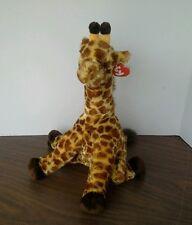 "Giraffe 2010 TY Classic Plush Hightops  14"" soft TY Silk Giraffe W/Tag"