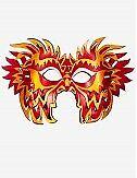 Venezianische Masken Shock Ledermaske - In Venedig Handgemacht!