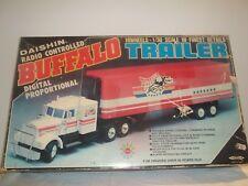 Vintage Rare Daishin R/C Buffalo Truck & Semi Trailer 1/30 New