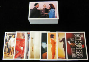 1993 Cornerstone The Avengers in Color Series 2 Trading Card Set (82-180)