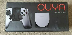 OUYA Game Console Silver NEW Factory Sealed