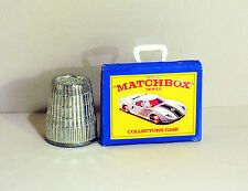 Dollhouse Miniature 1:12  Matchbox Car Case box 1970s Dollhouse boy toy car box