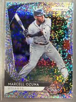 2020 Panini Prizm Baseball White Sparkle Refractor Marcell Ozuna #51 Atlanta /20