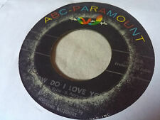 BB King 45 How Do I Love You/Slowly Losing My Mind ABC-Paramount 10486