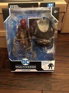 McFarlane DC Multiverse SCARECROW - Last Night on Earth Batman figure (BAF BANE)