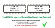 Akai S900 - Version 1.2C OS Update Upgrade Firmware Eprom for S-900 Midi Sampler